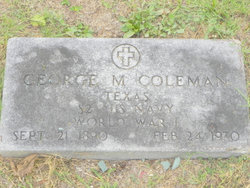 George Myron Coleman