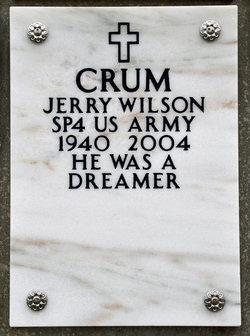 Jerry Wilson Crum
