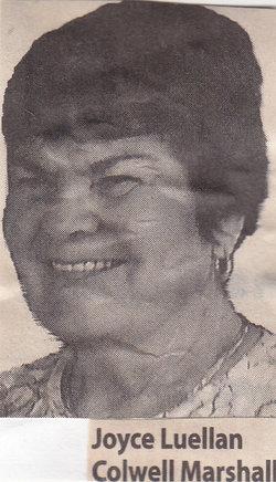 Joyce Luellen <i>Colwell</i> Marshall