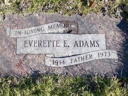 Everette E. Adams