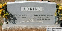 Grover Carlton Adkins, Sr