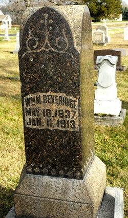 William M BEVERIDGE