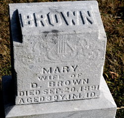 Mary <i>Briner</i> Brown