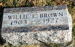 Willie E Brown