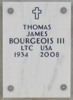 Thomas James Bourgeois, III