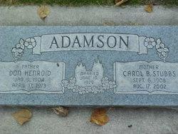 Don Henriod Adamson