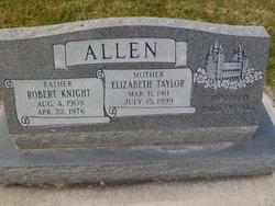 Elizabeth Bessie <i>Taylor</i> Allen