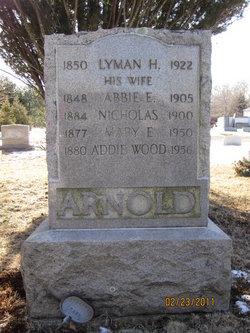 Addie <i>Arnold</i> Wood