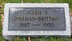 Jessie F. <i>Dikeman</i> Brittain