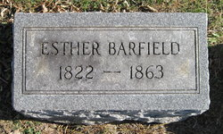 Esther <i>Cleares</i> Barfield