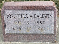 Dorthea A <i>Schmidt</i> Baldwin