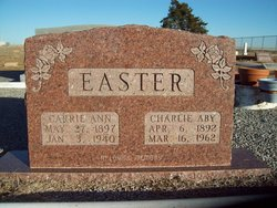 Charles Aby Easter
