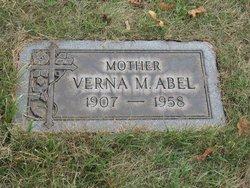 Verna May <i>Barger</i> Abel