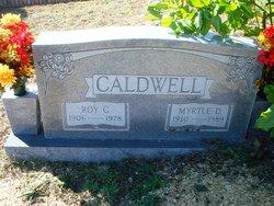 Myrtle <i>Davis</i> Caldwell