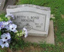 Betty L <i>Bond</i> Arnone