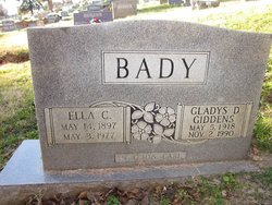 Gladys D. <i>Bady</i> Giddens