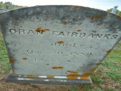 Oran Fairbanks
