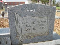 Ava Lee <i>Gandy</i> Barrett