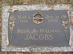 Billie Jo <i>Williams</i> Jacobs