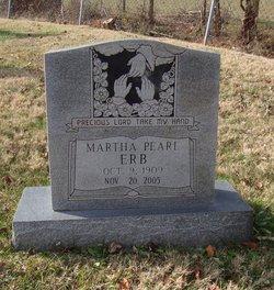 Martha Pearl <i>Morefield</i> Erb