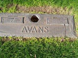 Mary E Avans
