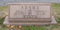 Catherine <i>Mentzer</i> Adams