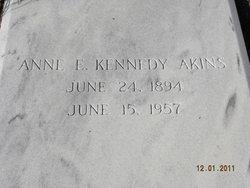 Anne Elizabeth Bessie <i>Kennedy</i> Akins
