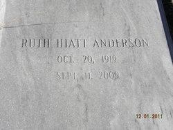 Ruth <i>HIATT</i> Anderson