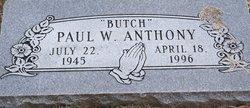 Paul Butch W. Anthony