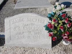 Mamie <i>Brewton</i> Anderson