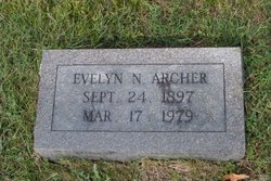 Mary Evelyn Evelyn <i>Norvell</i> Archer