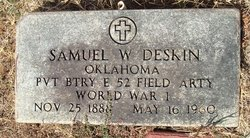 Samuel Wesley Deskin