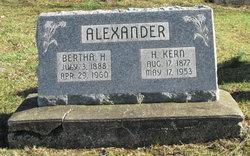 Bertha Luella <i>Hayward</i> Alexander