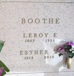 Esther W. <i>White</i> Boothe