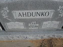 Verl Ahdunko