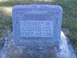 Thomas Wallace Tommy Campbell