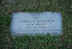 PFC James Scuitier