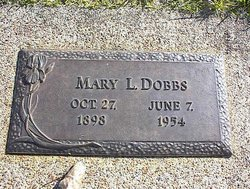 Mary Louise <i>Griffin</i> Dobbs