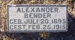 Alexander Bender