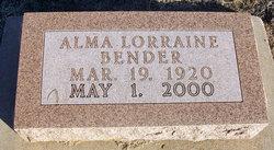 Alma Lorraine Bender