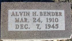 Alvin H Bender