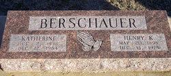 Katherine Elizabeth Katie <i>Bender</i> Berschauer