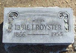 Ibbie Isabelle <i>Edens</i> Royster