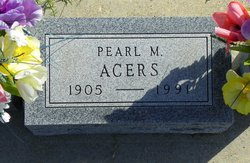 Pearl M Acers