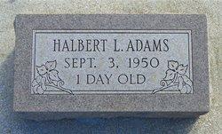 Halbert L Adams