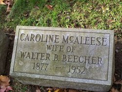 Caroline <i>McAleese</i> Beecher