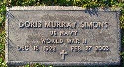 Doris <i>Murray</i> Simons