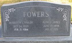 Henrietta L <i>Taylor</i> Fowers