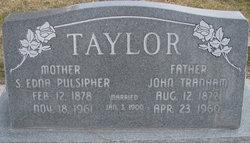 Sarah Edna <i>Pulsipher</i> Taylor