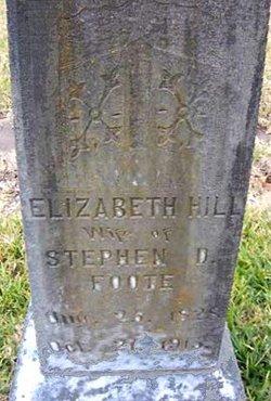 Elizabeth Hill <i>Roberdeau</i> Foote